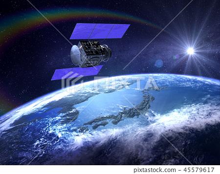 人造衛星地球日本GPS通信網絡 45579617