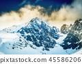 mountain, sky, hill 45586206