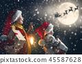 christmas santa xmas 45587628