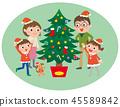 christmas, x-mas, xmas 45589842