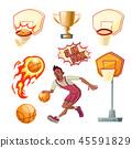 basketball sport ball 45591829