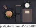 time, clock, man 45592409