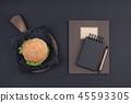 notebook, pen, notepad 45593305