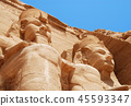 The statues of Abu Simbel in Egypt 45593347