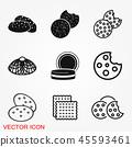 cookie vector biscuit 45593461