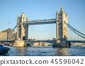 런던 타워 브릿지 45596042