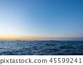 風景 自然景色 玄界灘 45599241