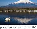 富士山 湖泊 湖 45600364