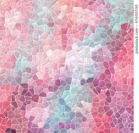stony mosaic background baby pink blue violet 45600598