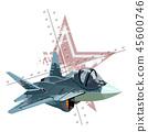 vector plane airplane 45600746