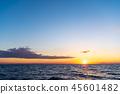 風景 自然景色 玄界灘 45601482