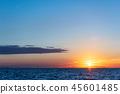 風景 自然景色 玄界灘 45601485