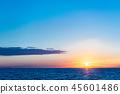 風景 自然景色 玄界灘 45601486