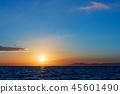風景 自然景色 玄界灘 45601490
