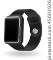 watch, icon, digital 45601926