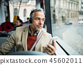 man, senior, businessman 45602011