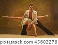 dance, female, couple 45602279
