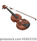 Music instrument - violin 45603330