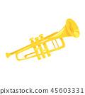 Music instrument - trumpet 45603331