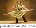 dance, female, couple 45603748