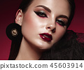 Beauty, makeup, face 45603914