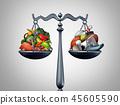 Healthy Lifestyle Balance 45605590