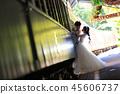 享受與火車的婚禮夫婦地點攝影在Kuranda駐地圍場 45606737