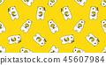 bear, vector, honey 45607984