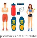 คน,การออกกำลังกาย,ยิม 45609460