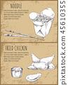 fastfood chinese sketch 45610355