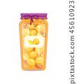 apricot, homemade, bottle 45610923