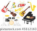 Music instruments for performanc 45612163