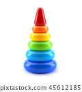Pyramid toy 45612185