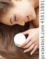 女性美容圖像護髮 45613891