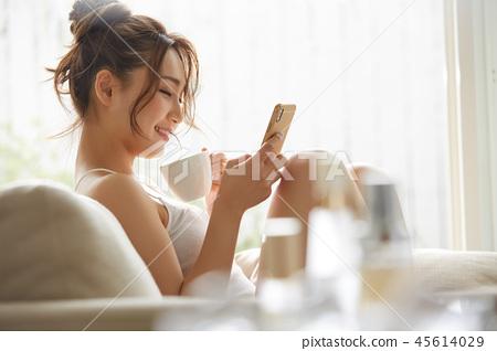 女性生活方式放鬆 45614029