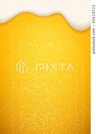 Beer foam bubbles Oktoberfest background 45619722