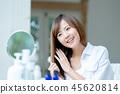 年輕女性,肖像,美的形象 45620814