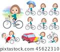 Bob hair women Sportswear_city cycle 45622310