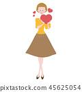 heart, hearts, valentine 45625054