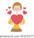 heart, hearts, valentine 45625077