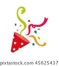 파티 - 크래커 일러스트 45625437