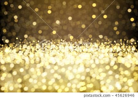 Sparkling gold glittering effect 45626946
