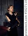 woman female portrait 45627110