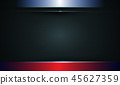 Abstract red and black metallic background 45627359