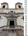 Chiesa della Trinita dei Monte 트리 니타 데이 몬티 교회 로마 45635202