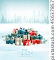 greeting, christmas, gift 45637857