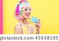woman wig music 45638195