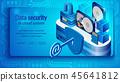 database, datacenter, digital 45641812