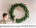 Rustic room decoration Christmas parties gift 45642093