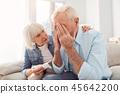 couple, senior, home 45642200